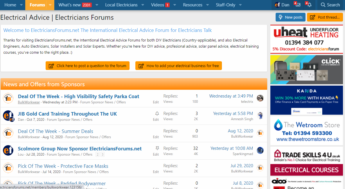 Construction Industry Forums and Websites