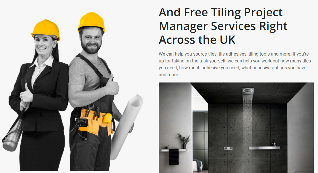 Free Tiling Advice Service Now Online